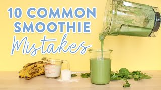 Download 10 Common Smoothie Mistakes | What NOT to do! Video