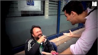 Download Beautiful Reactions From Homeless Getting Food Video
