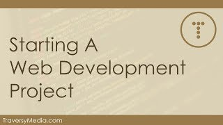 Download Starting A Serious Web Development Project Video