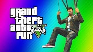 Download GTA 5 Online Funny Moments Gameplay - Secret IAA Building, Parachute Fails (Hidden Office Fun!) Video
