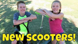 Download Kids Finally Get New Scooters! (Day 1966) Video