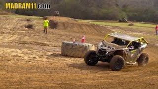 Download WILD WOMAN DRIVES THE WHEELS OFF A CANAM MAVERICK X3 Video
