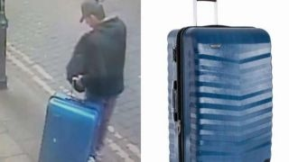 Download British police ask public's help to locate bomber's suitcase Video