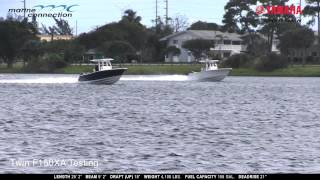 Download Single vs Twin Outboards: Yamaha's Official Test of the Sportsman 251 Heritage Center Console Video