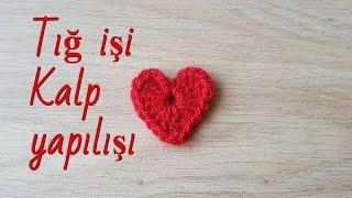 Download Tığ işi kalp yapılışı/Örgü modelleri Video