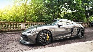 Download Collecting my brand new Cayman GT4 & nearly crashing! Video