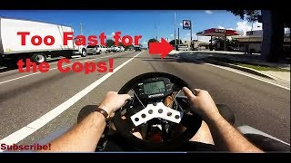 Download Shifter Go Kart 90 mph on the Street vs the Police in Florida Video