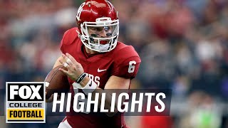 Download Oklahoma vs TCU | Highlights | FOX COLLEGE FOOTBALL Video