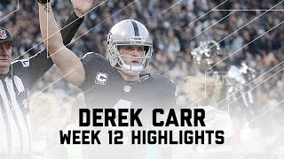 Download Derek Carr Goes Off for 315 Yards & 2 TDs | Panthers vs. Raiders | NFL Week 12 Player Highlights Video