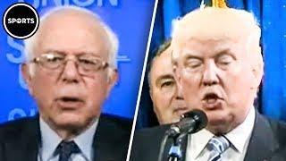 Download Bernie Sanders TRIGGERS Trump With Actual Leadership Video
