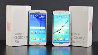 Download Samsung Galaxy S6 vs S6 Edge: Unboxing & Comparison Video