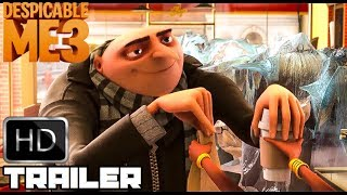 Download Despicable Me 1 2 & 3 'Gru's Funniest Moments' (2017) Hilarious Animated Movie HD Video