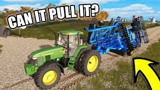 Download CAN SHE PULL IT? | BRAND NEW DISC | FARMING SIMULATOR 2017 EP#18 Video