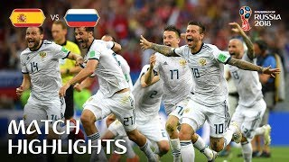 Download Spain v Russia - 2018 FIFA World Cup Russia™ - Match 51 Video