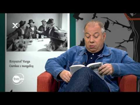 """Krzysztof Varga czyta fragment """"Czardasza z mangalicą"""""""