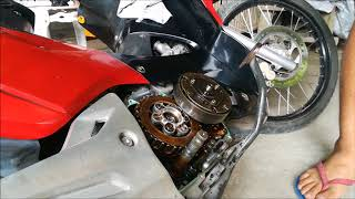 Download WAVE 125 racing clutch spring install Video