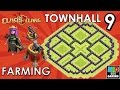 Download TH9 FARMING Base (No Archer Queen & X-Bows) with New AIR SWEEPER - Clash of Clans 2015 Video