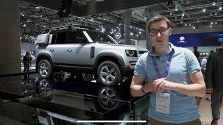 Download ПРОЩАЙ, РАМА! НОВЫЙ ДЕФЕНДЕР. Первый взгляд на Land Rover Defender 2020 Video