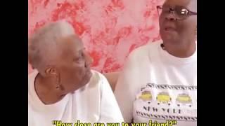 Download Black Lesbian Seniors Celebrate 58 Years Together Video