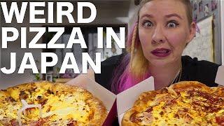 Download Weird Japanese Pizza Video