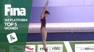 Download Top 5 - Women's 3m | FINA/NVC Diving World Series - Windsor 2017 Video