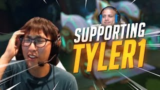 Download Doublelift - SUPPORTING TYLER1 Video