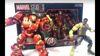 Download Hasbro: Marvel Studios: The First Ten Years (Marvel Legends) LA HULKSBUSTER ESTA INCREIBLE! Video