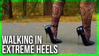 Download Walking in 6in. PLEASER DAGGER-12 Heels! Video