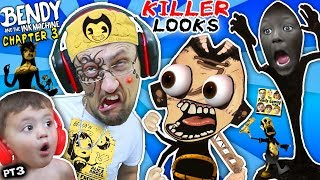 Download UGLY FACE WEAPON vs BENDY & THE INK MACHINE Chapter 3! FGTEEV gets Tattoo & Shawn Cries (Part 3) Video