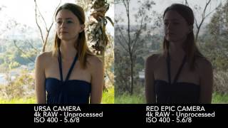 Download Blackmagic Ursa camera vs Red Epic - RAW vs. RAW Video