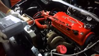 Download Civic coupe d16 turbo @11psi Video