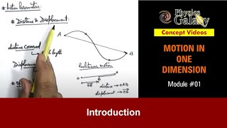 Download 1. Class 11th Physics | MOD | Motion in One Dimension Introduction | by Ashish Arora Video