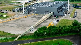 Download LM Wind Power sets record for the world's longest wind turbine blade, again! Video