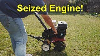 Download Craftsman Tiller - Seized Engine - LCT, Briggs & Stratton Video