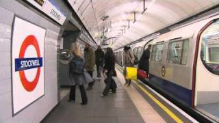 Download Victoria Line Driver's eye view preview in standard definition Video
