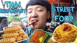 Download Thai BREAKFAST Street Food Tour in Bangkok Silom Soi 20 Video