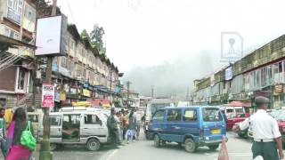 Download Darjeeling town - most beautiful hill station in India Video