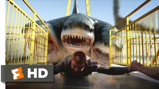 Download 3 Headed Shark Attack (6/10) Movie CLIP - All Aboard for Dinner (2015) HD Video