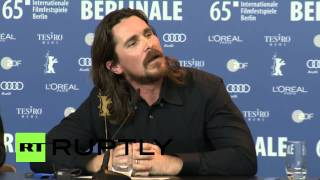 Download Germany: Watch Christian Bale embarrass journalist at 2015 Berlinale Video