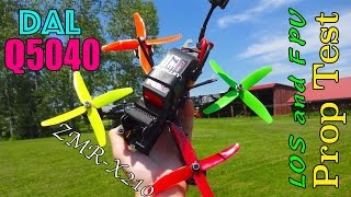 Download DAL Q5040 Quad Blade Prop Testing: LOS and FPV Video