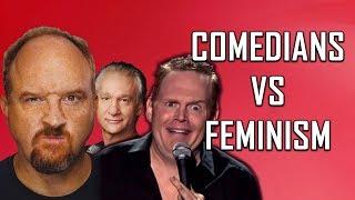Download COMEDIANS vs FEMINISM (Louis C.K., Bill Burr, Bill Maher) Video