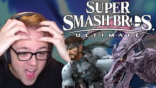 Download SUPER SMASH BROS. ULTIMATE REACTION! RIDLEY, SNAKE, WOLF, EVERYONE IS RETURNING!!! – Aaronitmar Video