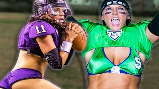 Download Women Try Lingerie Football Video