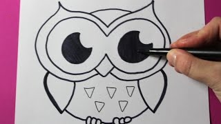 Download How to Draw an Owl Video