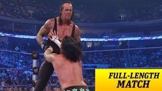 Download FULL-LENGTH MATCH - SmackDown - The Undertaker vs. CM Punk Video