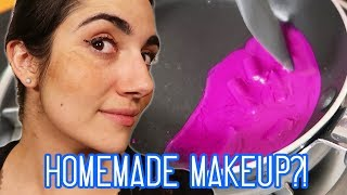 Download Full Face Of DIY Makeup Challenge (feat. Natalies Outlet) Video