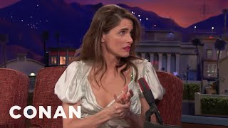 Download Why Amanda Peet Never Consults Her Doctor Sister - CONAN on TBS Video