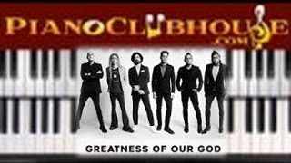 Download 🎹 How to play ″GREATNESS .OF OUR GOD″ by Newsboys (easy piano tutorial lesson free) Video
