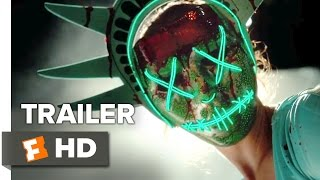 Download The Purge: Election Year Official Trailer #1 (2016) - Elizabeth Mitchell, Frank Grillo Movie HD Video