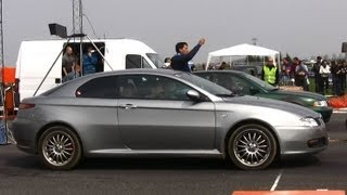 Download Alfa Romeo GT Vs Audi A4 TDI Drag Race HD Video